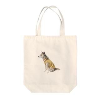 いちごちゃん(横向き) Tote bags