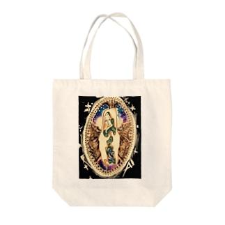 マリア様 Tote bags