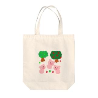 yukimalのこぶたちゃんに見つかった Tote bags