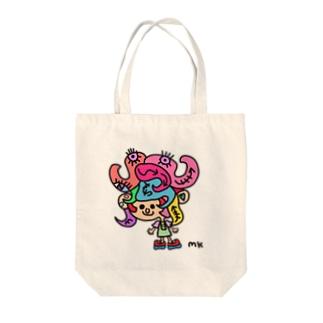 ぺがるん Tote bags