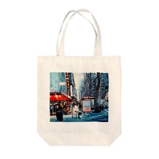 パリの街角 Tote bags