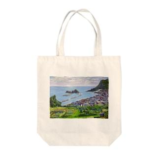 能生海岸 Tote bags