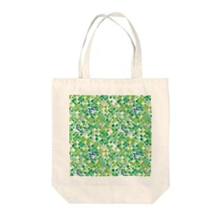 新緑とほととぎす_manyo Tote bags