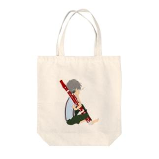 ファゴットを吹く人 Tote Bag