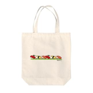 @おすし Tote bags