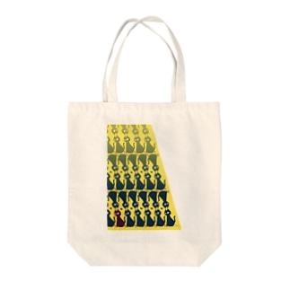 ねこネコ Tote bags