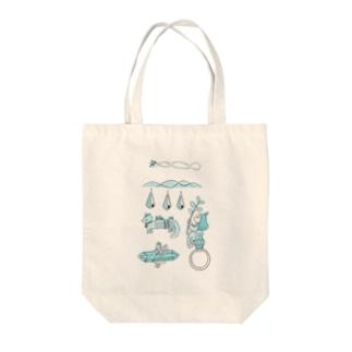 Harutaの村娘の指輪 Tote bags