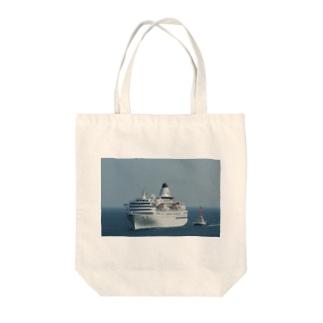 パシフィックビーナス Tote bags