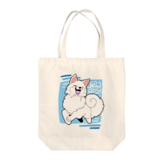 JUMP!日本スピッツ Tote bags