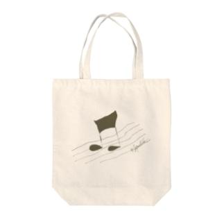 歩く音符 Tote bags