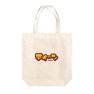 ティーン Tote bags