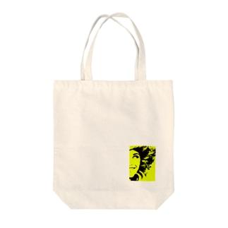 nakai tsuyoki Tote bags
