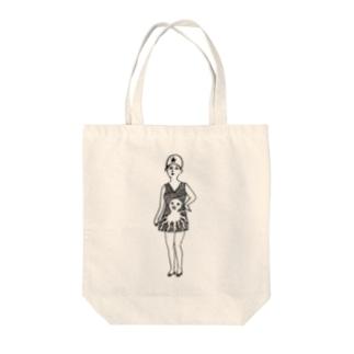 袴田章子/Shoko Hakamadaの水着の姫 Tote bags