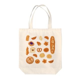 文鳥のパン屋さん Tote bags