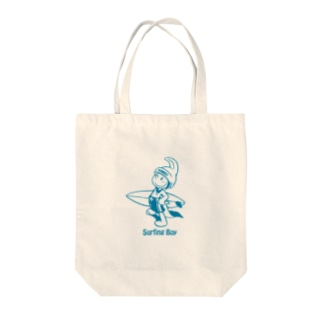Surfing Boy トートバッグ Tote bags