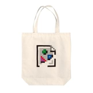 broken image M Tote bags