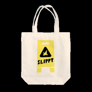 takeshitsuboiのSLIPPY Tote bags