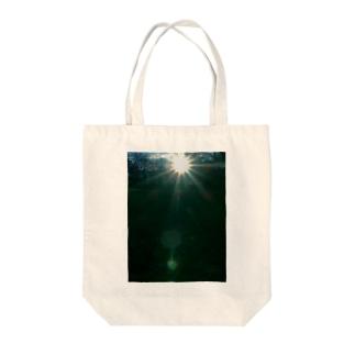 アマテラス ささやくもの DATA_P_149 太陽の輝き Tote bags