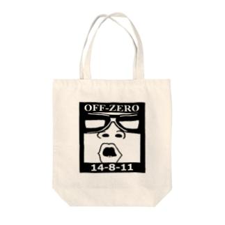 OFF-ZERO ルナ・アーチ・クオ Tote bags