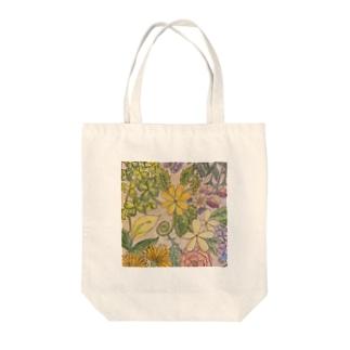 秋冬の花 Tote bags