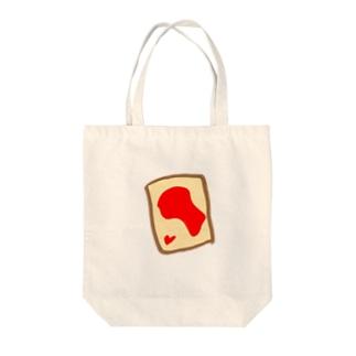 いちごジャムトースト Tote bags