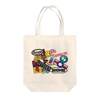 ニュートーキョーシリーズ ホワイト Tote bags