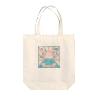 すずきいときちのFUJIYAMA(・‿・) Tote bags