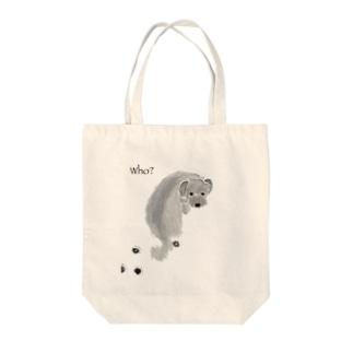 who? Tote bags