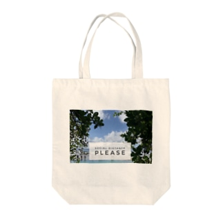 Letty&co.のソーシャルディスタンス確保 Tote bags
