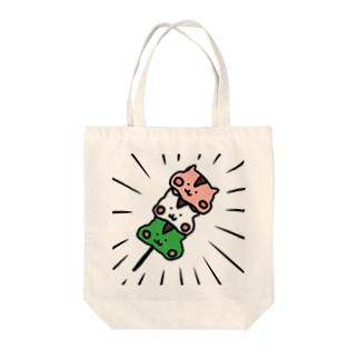 リス団子 Tote bags