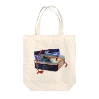 海友缶 Tote bags