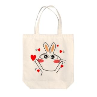 らぶぽよ~ Tote bags