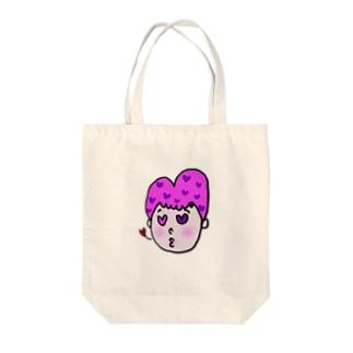 ハートンchan Tote bags