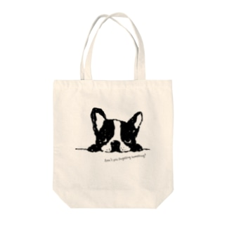 French Bulldog01 UP Tote bags