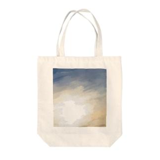 jabaranのOSORA -朝焼け- Tote bags