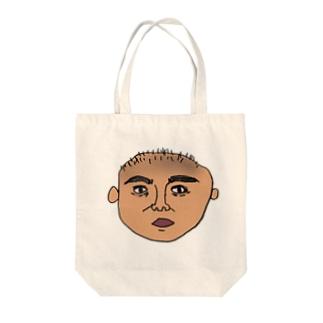 おじさまの蒼白 Tote bags