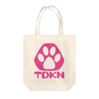 Transistor store(SUZURI支店)のTDKNロゴ Tote bags