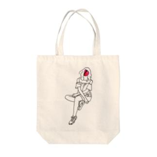 soysioのsoysio052 Tote bags