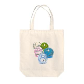 昭和の思い出 『ヨーヨー』 Tote bags