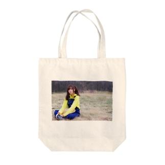 黒田原娘・ゆめな Tote bags
