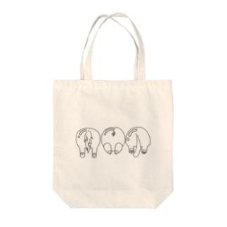 アニマルズ Tote bags