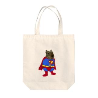 チョビーマン Tote bags