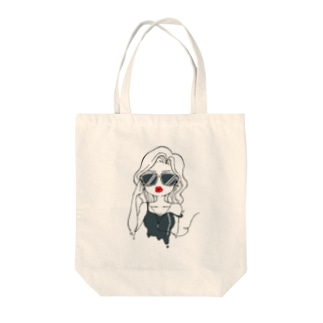 sexy girl(クール) Tote bags