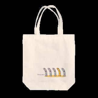 ミカトリエのチンアナゴ Tote bags