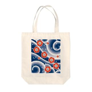 Rokunosukeのご存知 桜吹雪 Tote bags