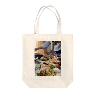 スパイス大好きスリランカカレー Tote bags