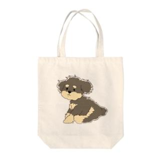 プードル Tote bags