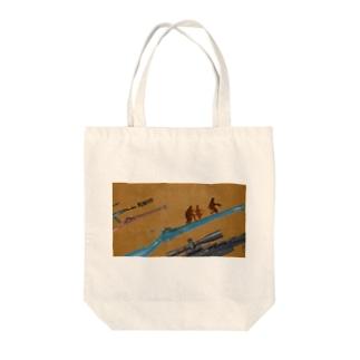 RUN!!!!! Tote bags