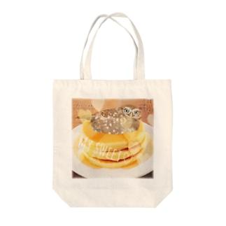 パンケーキハミィ Tote bags