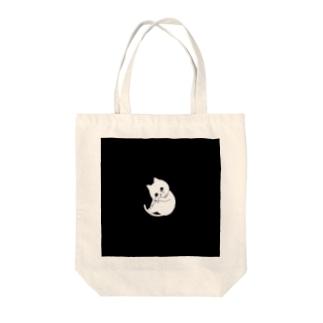 ぽろぽろネコ Tote bags